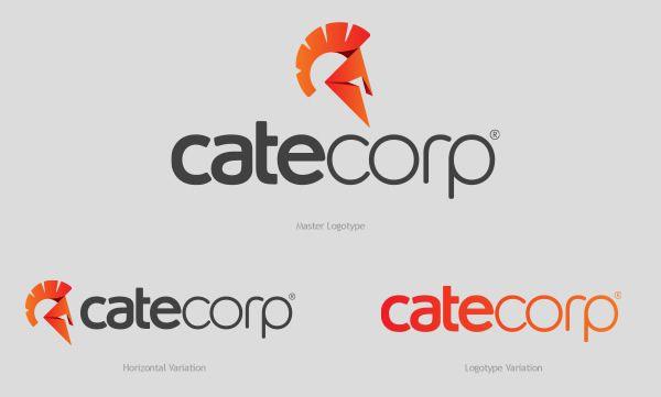 Cate Corp 品牌vi形象设计-公司标识logo设计