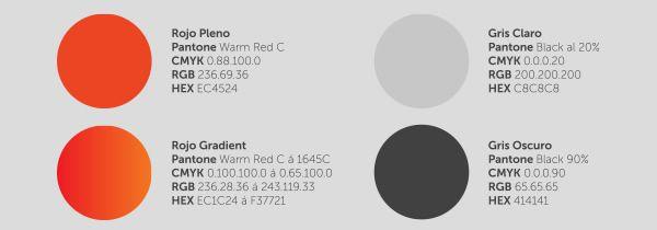 Cate Corp 品牌vi形象设计-颜色组合规范
