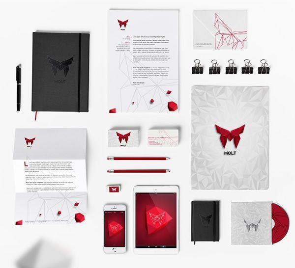 MOLT蜕变企业VI形象设计-文具vi设计
