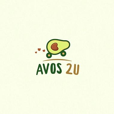 保健食品绿色logo设计