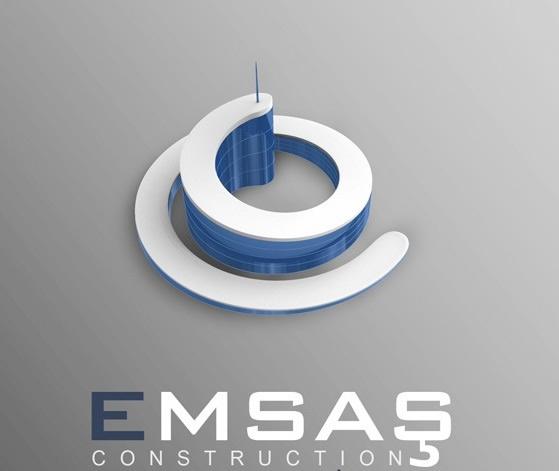 3D立体Emash logo设计