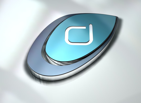 DJKTD 3D立体logo设计