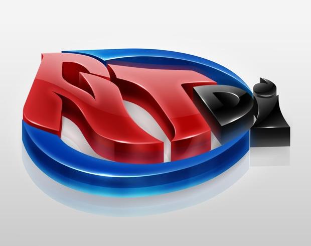 RTdi 3D logo设计