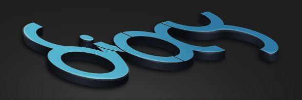Doixy 3d徽标logo设计教程