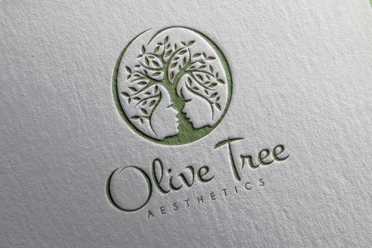 橄榄树美学标志logo设计