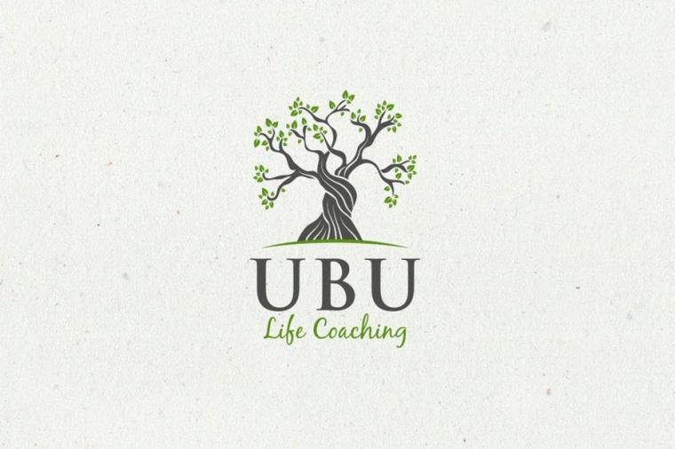 Ubu生活教练标志logo设计