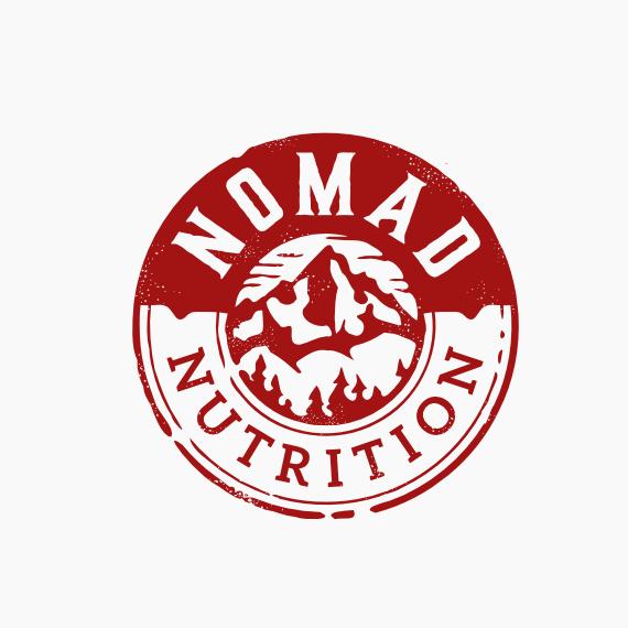 Nomad Nutrition标志logo设计