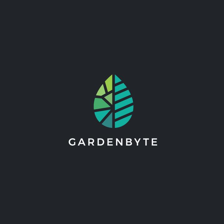 Gardenbyte标志logo设计