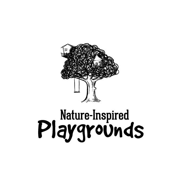自然风格的游乐场标志logo设计