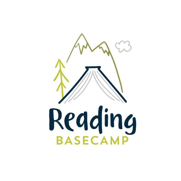 儿童阅读标志logo设计