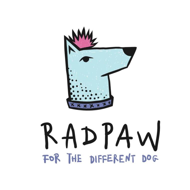 独立酷标志-一只倔强的小狗标志设计