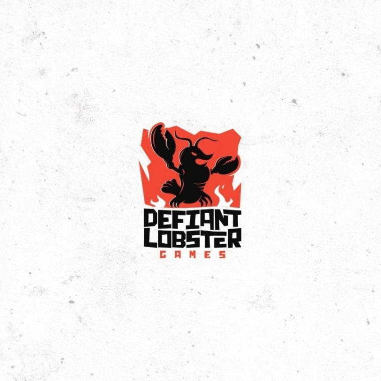 独立酷标志-一只挑衅的龙虾