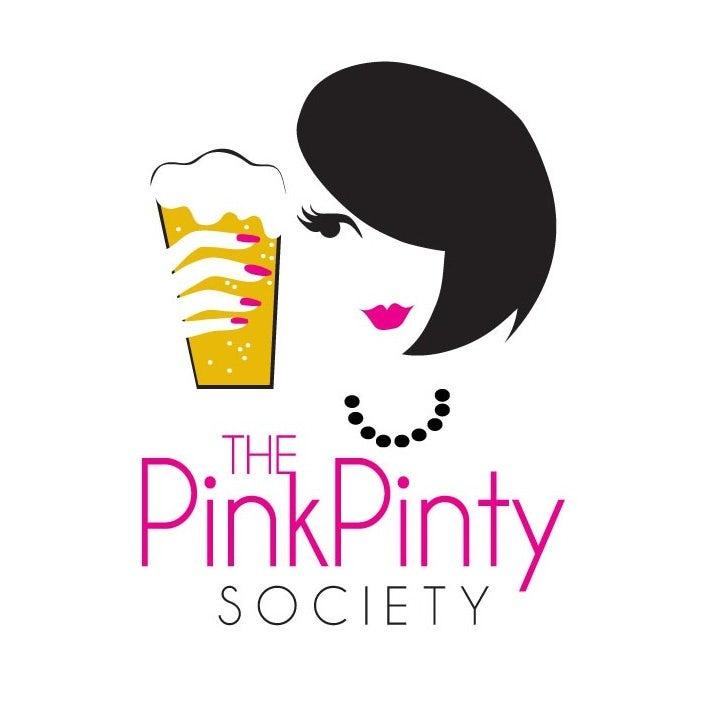 自信酷标志设计-粉红色的Pinty社会