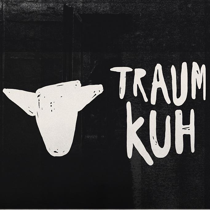 独特的酷标志设计-牛/咖啡壶组合标志设计