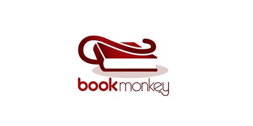 红色标志设计灵感品牌书猴