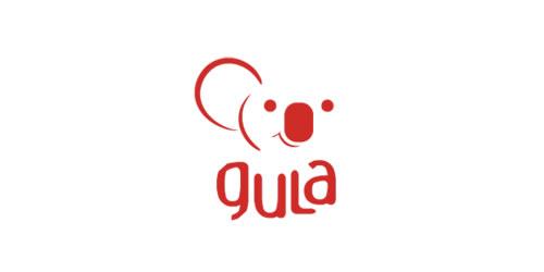 红色标志设计灵感品牌古拉