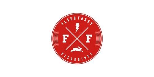 红色标志设计灵感品牌FlashXFurry