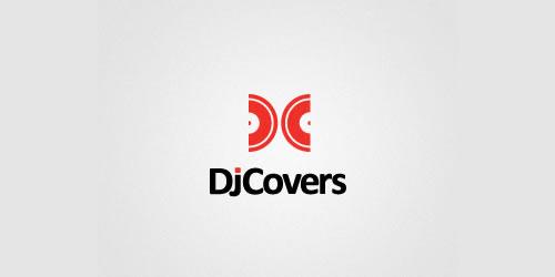 红色标志设计灵感品牌DJ封面