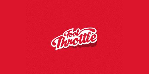 红色标志设计灵感品牌Fool Throttle