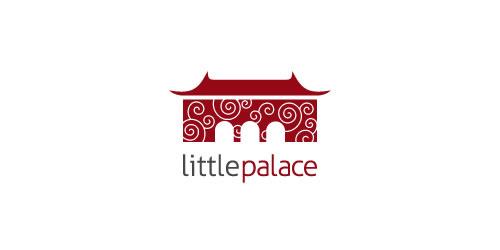 红色标志设计灵感品牌小宫殿
