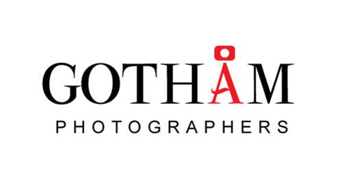 红色标志设计灵感品牌Gotham Photography