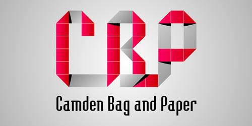 红色标志设计灵感品牌Camden Baq和Paper