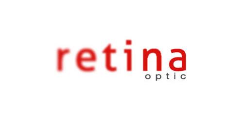 红色标志设计灵感品牌视网膜光学