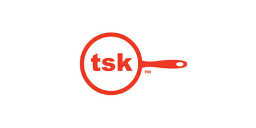 红色标志设计灵感品牌tsk