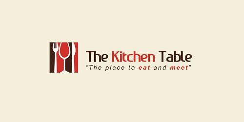 红色标志设计灵感品牌厨房表