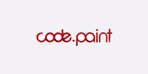 红色标志设计灵感品牌Code Paint