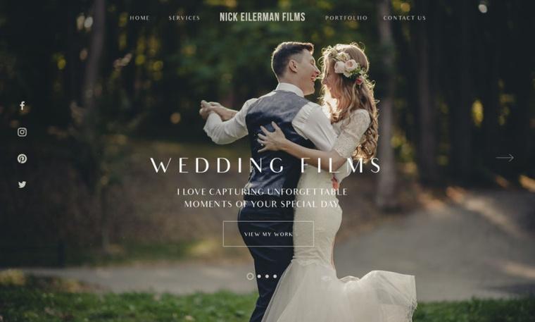 婚礼视频wordpress设计