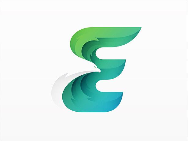 E-信-LOGO设计