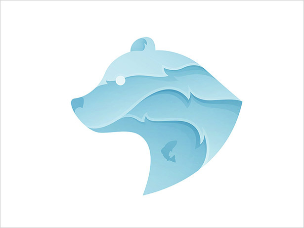 Ombre的熊-LOGO设计