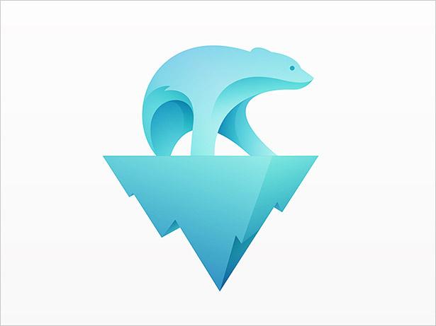 北极熊-LOGO设计