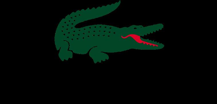 Lacoste酷的鳄鱼标志logo设计