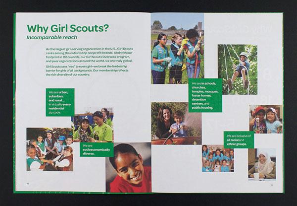 女孩童子军宣传册设计