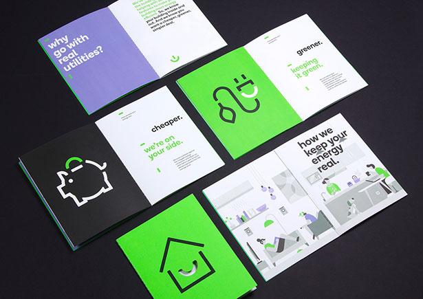 Real Utilities品牌识别手册设计