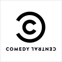 喜剧中心插图标志字母logo