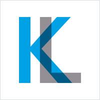 透明重叠字母logo