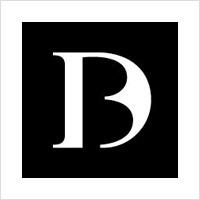 操纵现有的负空间字母logo