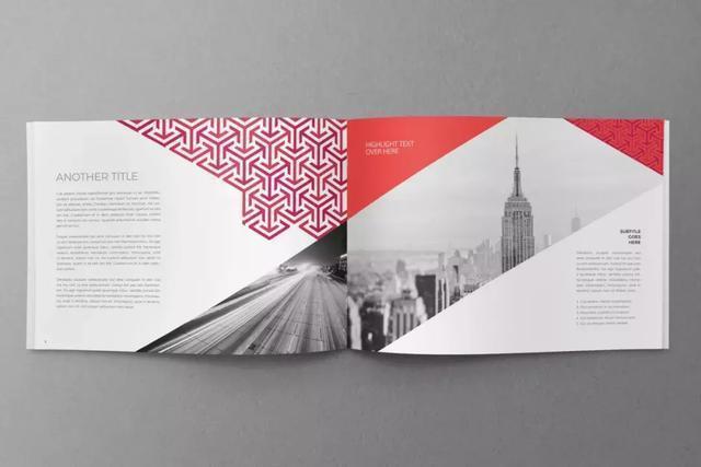 简约商务画册-上海画册设计公司大品牌大企业画册设计版式欣赏