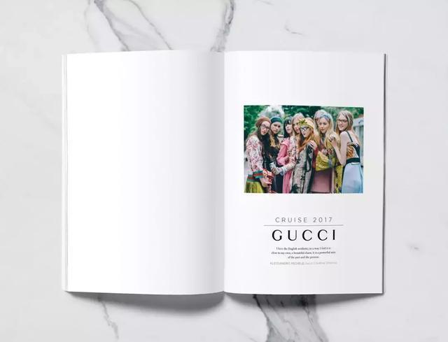 GUCCI服饰品牌画册-上海画册设计公司大品牌大企业画册设计版式欣赏