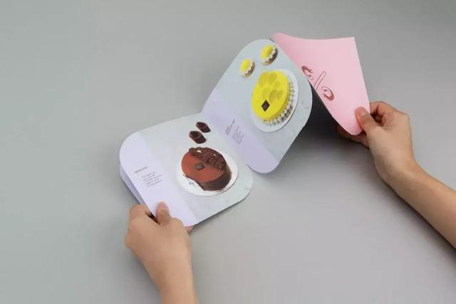 糕点创意手册-上海画册设计公司大品牌大企业画册设计版式欣赏