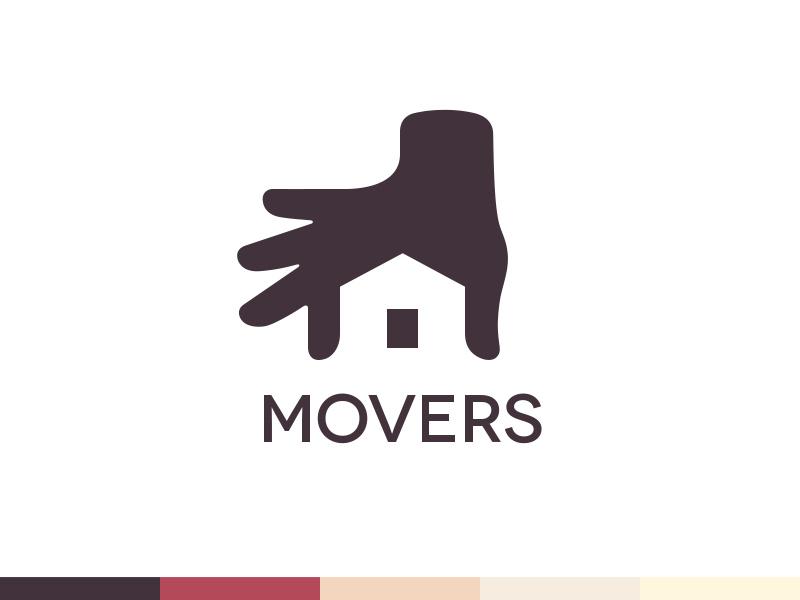 创意保险公司徽标logo设计-搬家公司标志logo设计