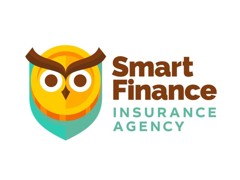 能金融保险公司logo设计