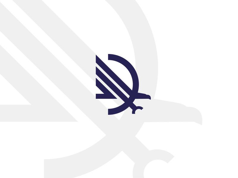 D-eagle Drib保险公司logo设计