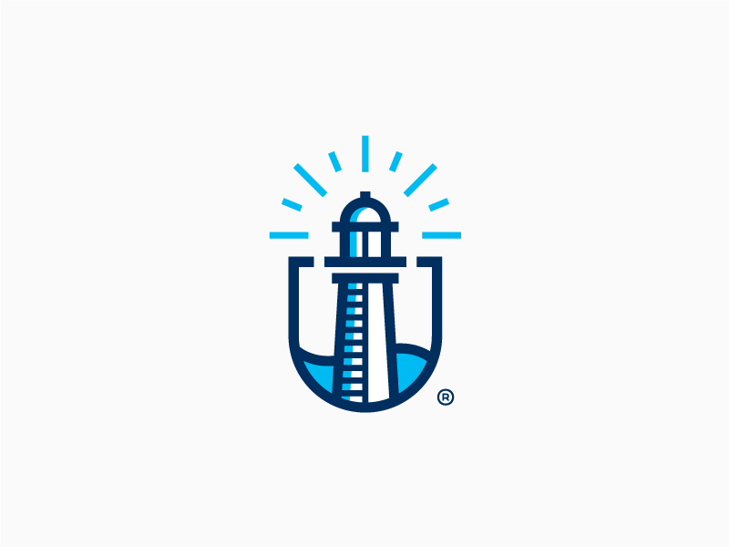 创意保险公司徽标logo设计