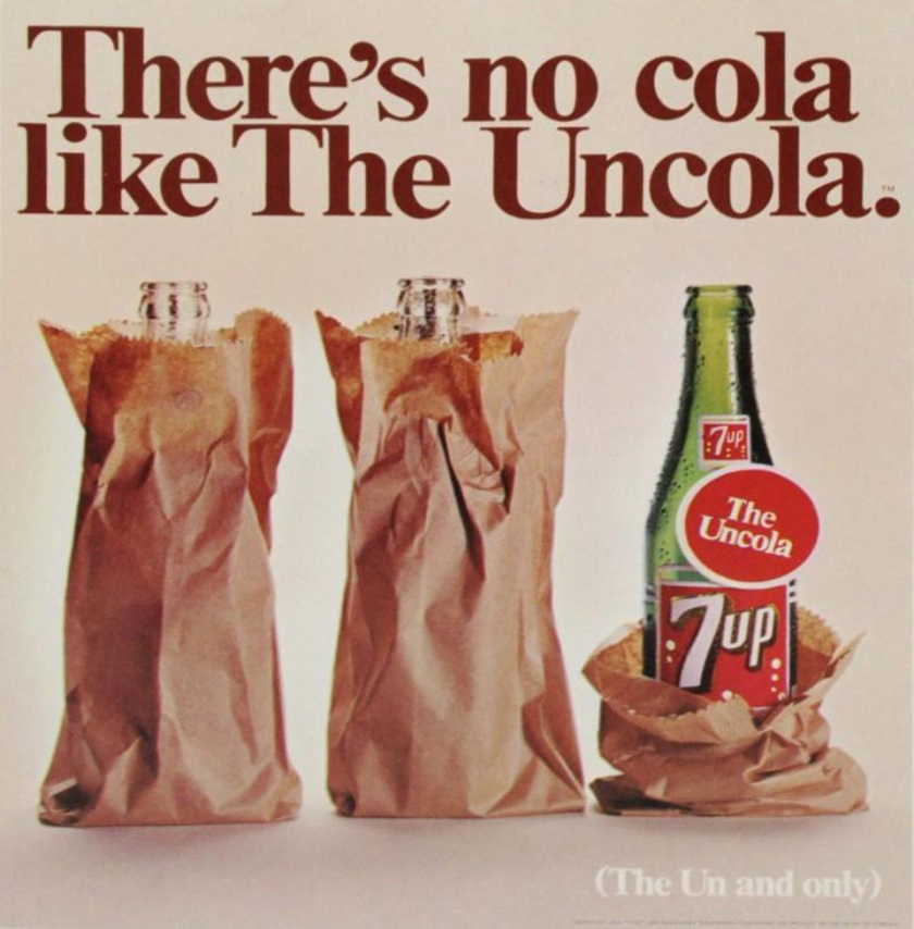 7UP七喜 非可乐品牌定位