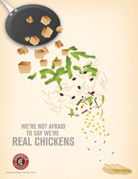 "CHIPOTLE快餐""更好的食品品质""竞争品牌定位"