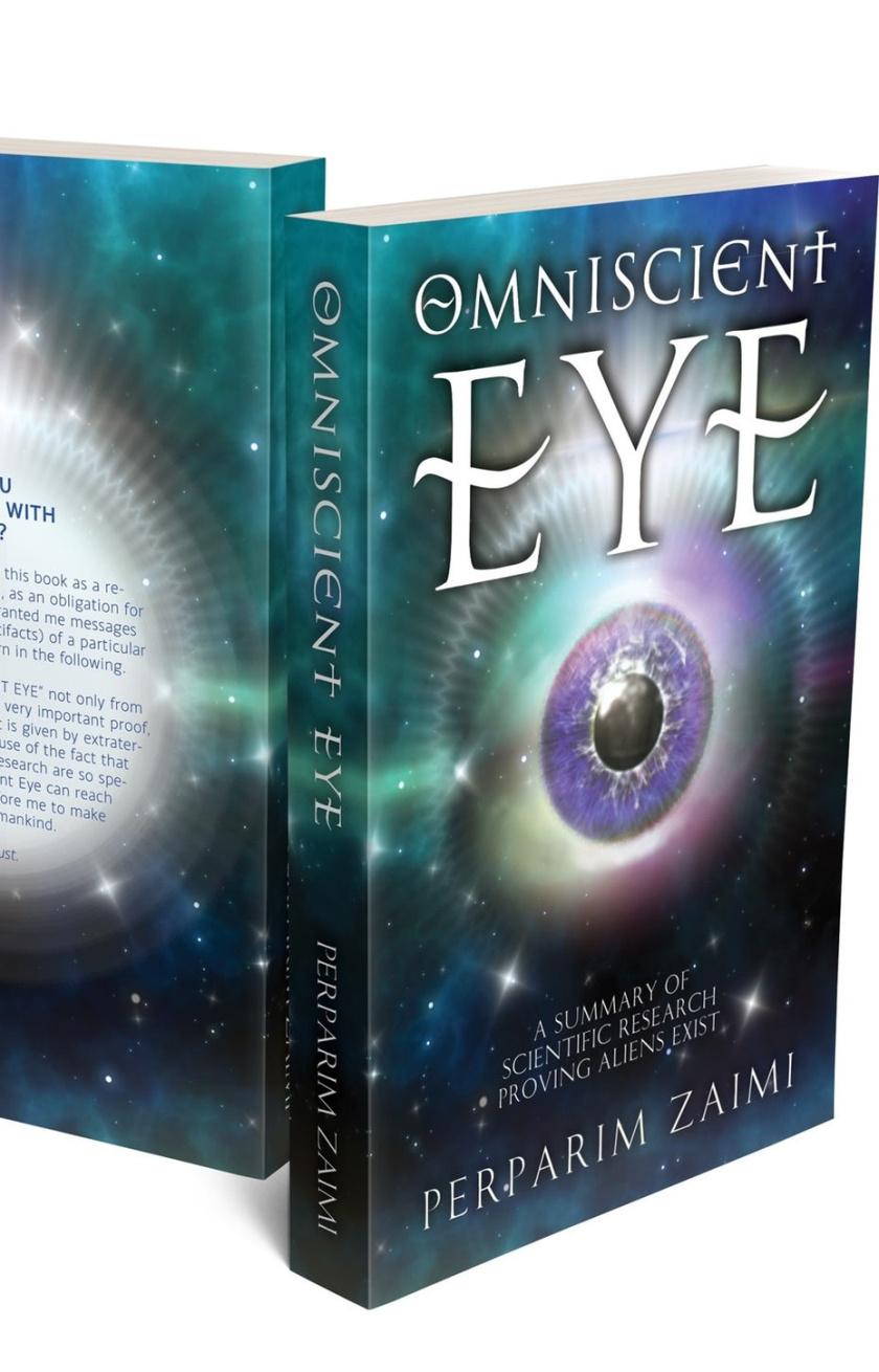 平面设计中的超现实主义-超现实的书籍封面设计-眼睛星云和自定义排版